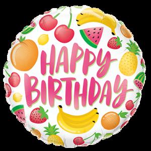 Happy Birthday – fruit