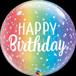 Happy Birthday – Regenboog