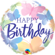 Happy Birthday – Rainbow drip Cake