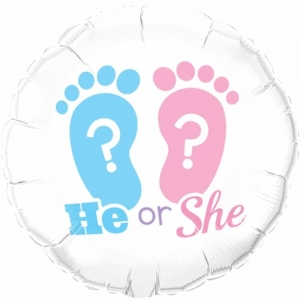 He or She? – Gender Reveal party