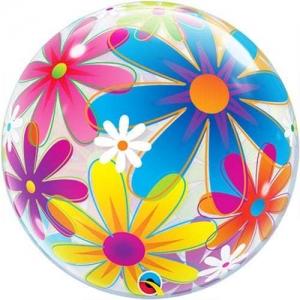Fanciful Flowers Bubble
