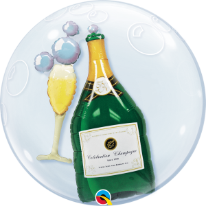 Double Bubble Celebrate champagne UNIEK