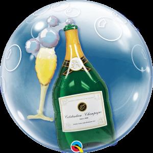Double Bubble Celebrate champagne UNIEK