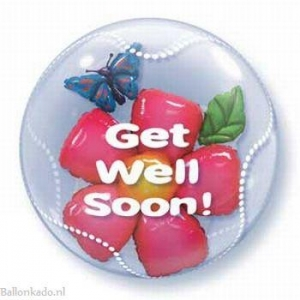 """Get Well Soon """"Double Bubble"""""""