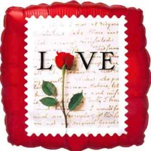 """Love"" stamp"